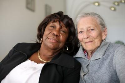 senior women friends