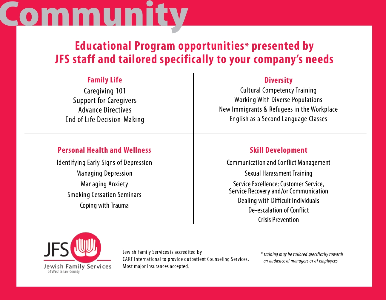 JFS Corporate Partnership Opportunities3