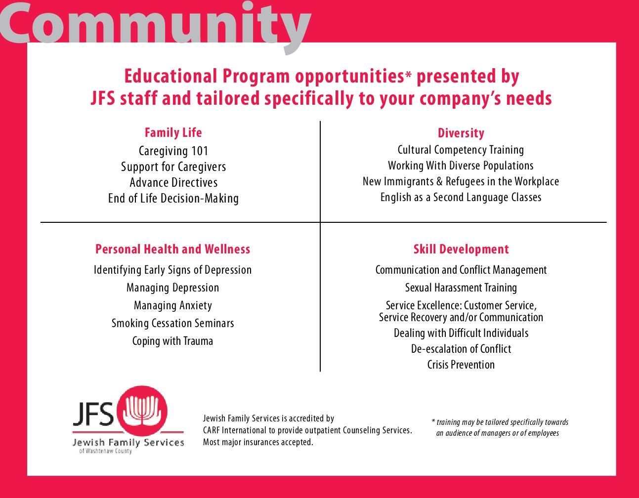 JFS Corporate Partnership Opportunities3