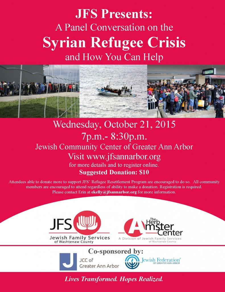 Panel Conversation on the Syrian Refugee Crisis